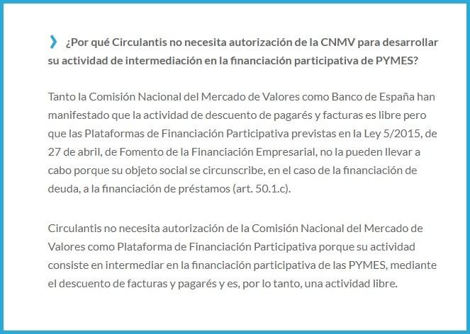 declaración a hacienda por ingresos de circulantis