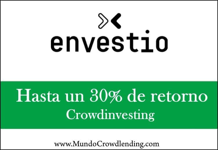 envestio plataforma crowdinvesting