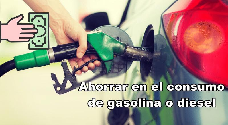 así puedes ahorrar gasolina